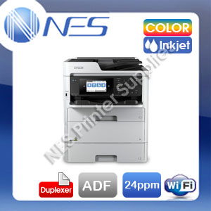 Epson WorkForce Pro WF-C579R Color Inkjet Wi-Fi Business Printer+Duplexer+ADF+Mobile Print
